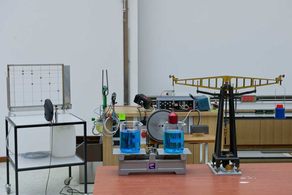 Lecture Experiments / Physics Lab – Department of Physics | ETH Zurich
